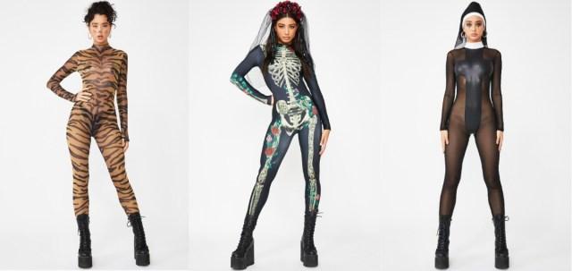 ハロウィンの仮装に超絶クールな「全身タイツ」はいかが? ガイコツから修道女までいろんなデザインがそろってるんです