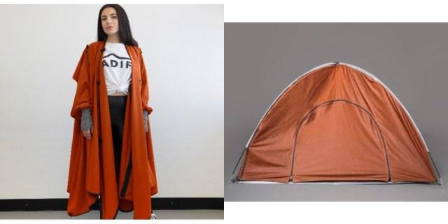 【注目】災害時にも使えそう! ジャケットからテントに早変わりする「着るテント」が気になります