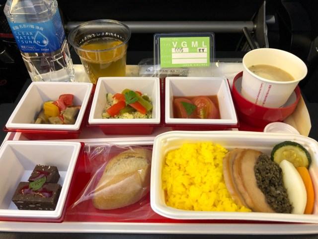【体験レポ】機内食はエコノミークラスでも簡単に無料でカスタマイズできるって知ってた? JAL国際線で試してみた