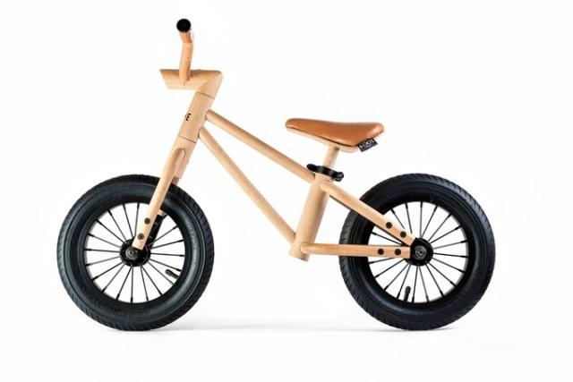 木製でスーパーかわいい「バランスバイク」できたよ! リサイクル可能な木製パーツでできたおしゃれすぎる1台なのです