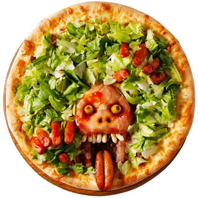 ピザの上にゾンビがドーン! ハロウィン恒例の「血まみれゾンビーノ」が今年も発売されるよおおお