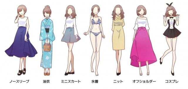 【衝撃】マッチングアプリで人気の服装は「ノースリーブ」と「浴衣」!? 季節性があるほうがモテると判明
