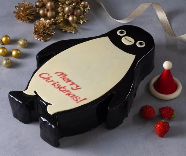 【超限定】Suicaペンギンのクリスマスケーキが可愛すぎ! 目が合ったら食べるのをためらってしまいそう…