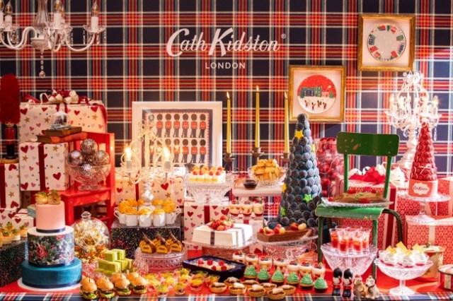 「コンラッド東京 × キャス キッドソン」コラボのクリスマスビュッフェがかわいいっ♪ 「トライフル」「ミンスパイ」などイギリス伝統メニューも