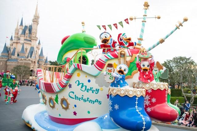 【2019】東京ディズニーランド「クリスマス」は超ファンタジック♪ グッズやパレードなど見どころ盛りだくさんなのです!