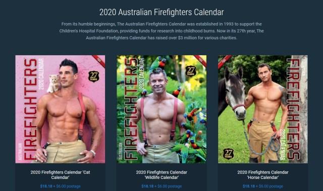 みんな〜!  マッチョ消防士とキュートな動物の組み合わせが最高な「チャリティカレンダー」2020年版が登場したよ〜!