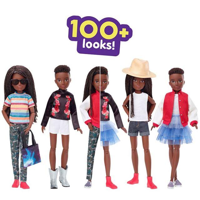【素敵】バービー人形のマテル社から「ジェンダーフリー人形」が登場! 髪型やファッションを性別にとらわれず自由にカスタムできるよ