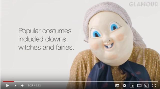 100年前のハロウィンの仮装ってどんなの? 年代ごとにコスチュームのトレンドを紹介した動画が興味深い!
