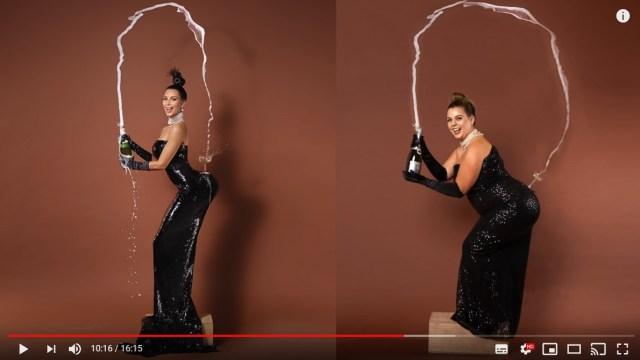 「体型にも多様性を取り入れよう」ぽっちゃり女子が有名セレブ写真に挑戦した理由が深かった