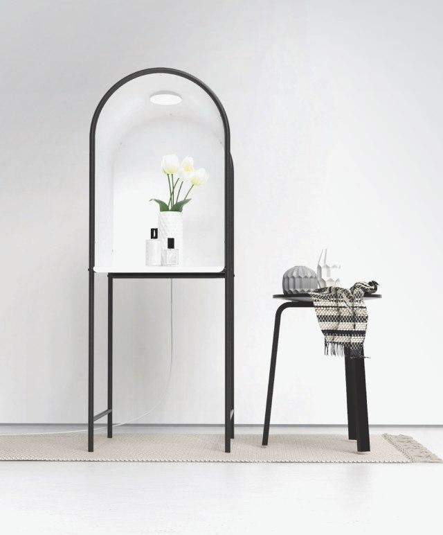 「物撮り」にも使えるサイドテーブルがオシャレ! 「小さなフォトスタジオ」がかなり本格的です