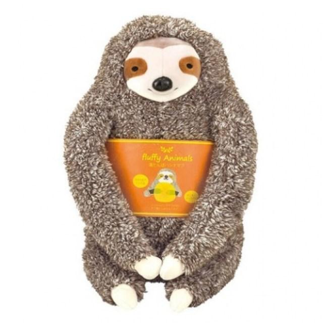 手を入れて温められるヴィレヴァンの「アニマル湯たんぽ」がかわいい~♡ ナマケモノハリネズミなど珍しい動物が多いよ