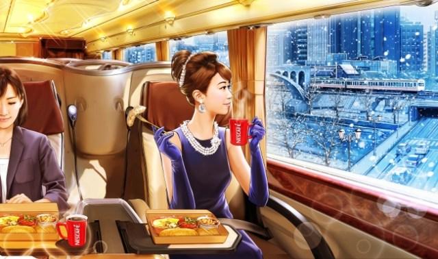 満員電車から解放される!? 無料で優雅に朝食を食べながら出勤できるバスが期間限定で登場するよー! ただし参加条件ありです