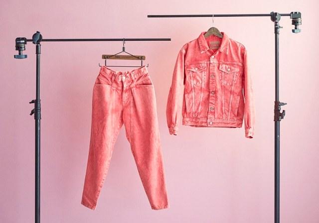 """EDWINが林家ペーの """"ブレないピンク色"""" に共感して生まれたコラボアイテムが可愛い! 思わず「ヒャッハー!」と撮影したくなるよ"""