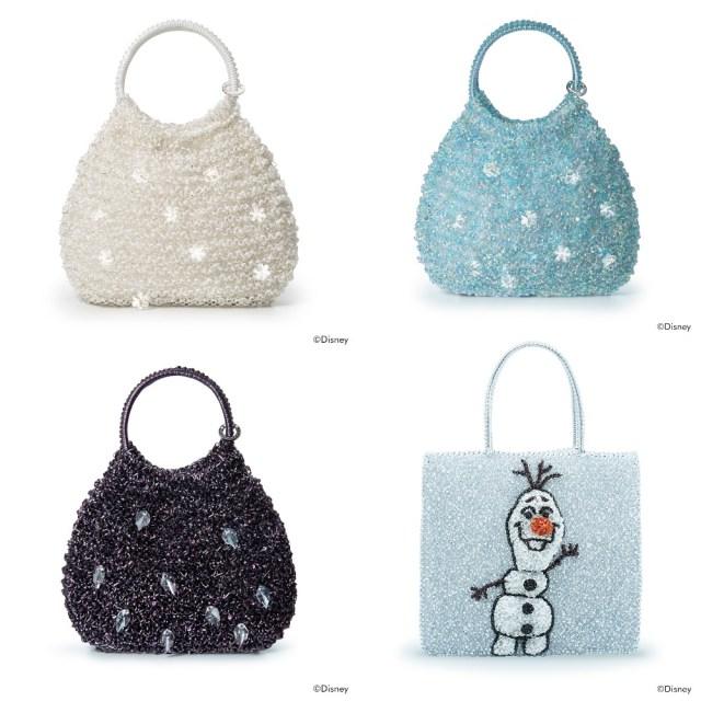 アンテプリマから「アナ雪2」コレクションが登場! オラフをイメージしたワイヤーバッグにほっこり…