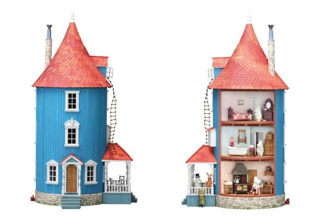 ムーミンハウスを完全再現! デアゴスティーニのドールハウスシリーズの全号パーツセットが販売に…ただしお値段12万円超だよ