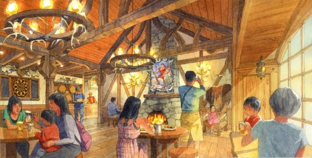 東京ディズニーランドの新施設「美女と野獣」エリアにガストンのレストランが!! しかし「12ダースの卵」は出ない模様です