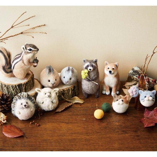 羊毛フェルト初心者でもリアルなシマリスが作れる! フェリシモの手芸キット動物が可愛い…
