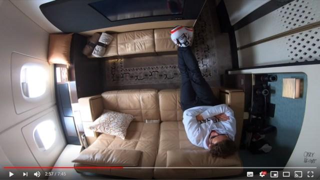 世界一高価な空の旅「ザ・レジデンス」がすごい…リビング・寝室・バスルームがあってもはや飛行機というより「家」です