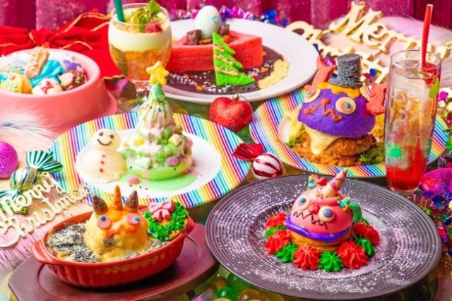 派手クリスマスが好きなら「カワイイモンスターカフェ」に行くしかない! 隙のないカラフルな世界が広がっているよーっ