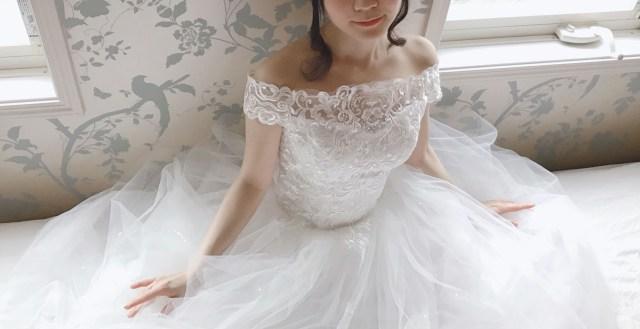 楽天市場で見つけた約5000円のウェディングドレスを購入してみた
