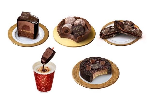 ローソンとゴディバのコラボが超豪華! カカオ72%のチョコをミルクに溶かして作るホットドリンクなど5種類登場したよ