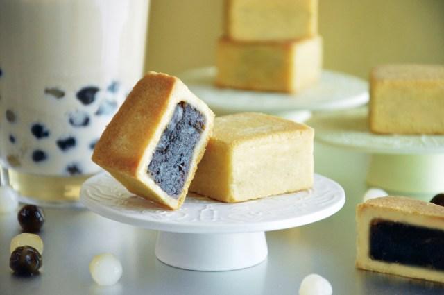 タピオカがケーキになった!? モチモチ食感の「タピオカミルクティーケーキ」がめちゃめちゃ美味しそう