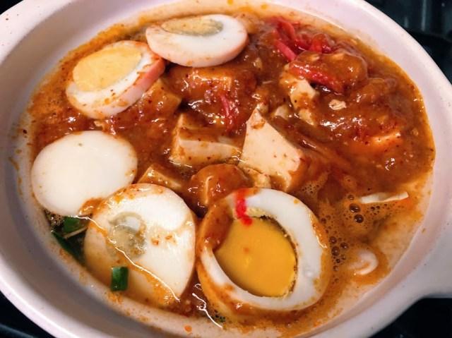 【裏技】蒙古タンメン中本のテイクアウトで作る「ひとり激辛鍋」が最高すぎた…激辛好きにオススメだよー!