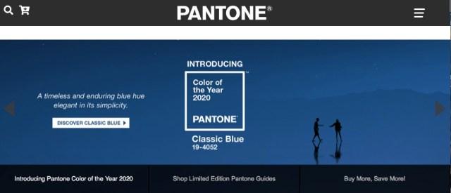 2020年の色は「クラシック・ブルー」とPANTONE社が発表! 安らぎを感じるような夕暮れ時の空の色です