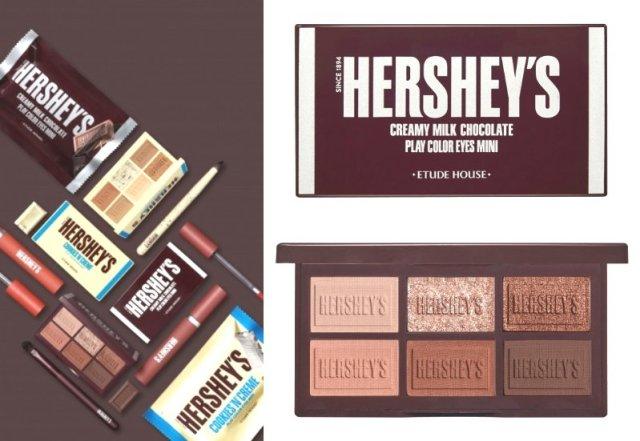 エチュードハウスがハーシーとコラボ! 食べたくなるほどかわいい「チョコレートみたいなコスメ」