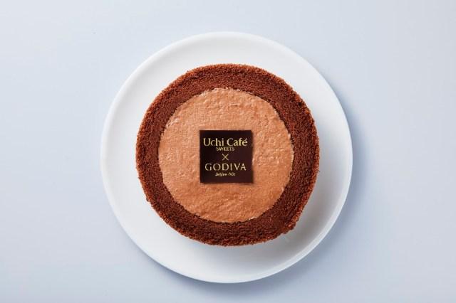 ローソン×ゴディバ初コラボ商品が約3年ぶりに復刻! チョコクリームがたっぷり詰まったロールケーキに癒やされよう♪