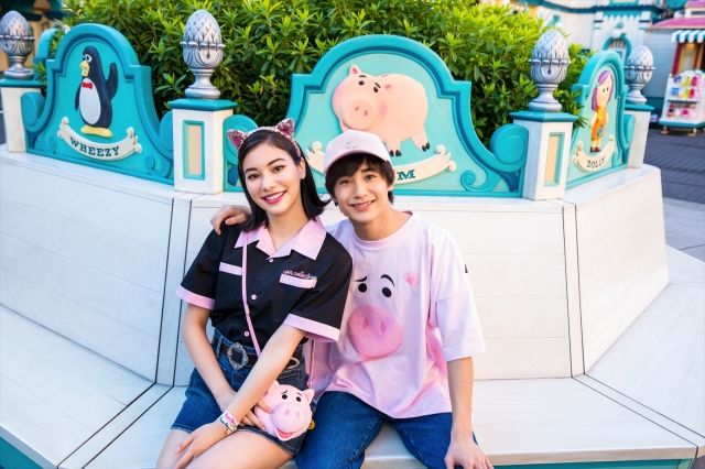 東京ディズニーリゾートの『トイ・ストーリー』ハムグッズがかわいい~! 淡いピンク色でひと足早く春気分を楽しめるよ♪