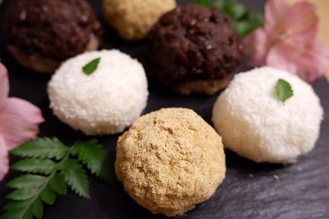 切り餅とパックごはんで簡単手作り「おはぎ」が作れちゃう!? サトウ食品公式レシピを信じて作ってみたら…絶品だった
