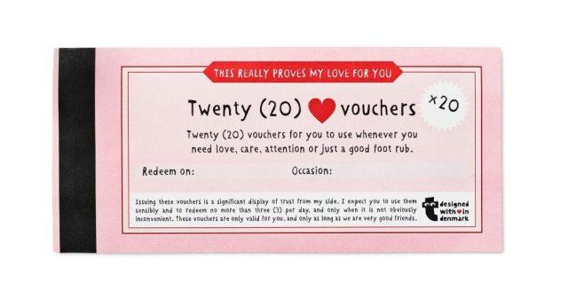 フライング タイガー コペンハーゲンの「恋人チケット」にが可愛すぎ! 「YESしか言っちゃダメ」など