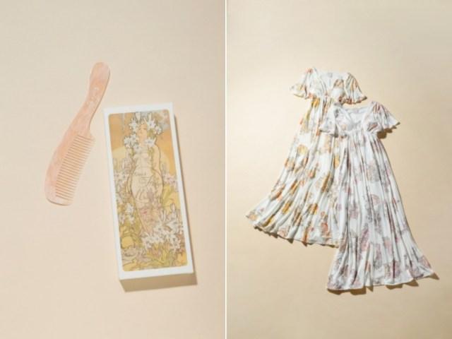 ミュシャ×ジェラート・ピケのコラボアイテムが可愛すぎー!! 絵画から抜け出してきたようなナイトウェアなど