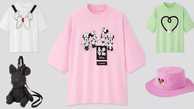 ミニーマウスが主役のクールなアイテムが勢ぞろい♪ ユニクロ「UT」と人気ブランド「AMBUSH」がコラボ!