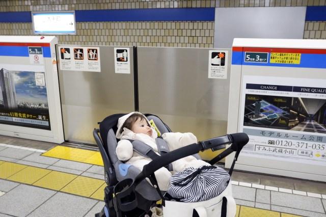 海外在住者の私が、日本の電車にベビーカーで乗って感じたこと