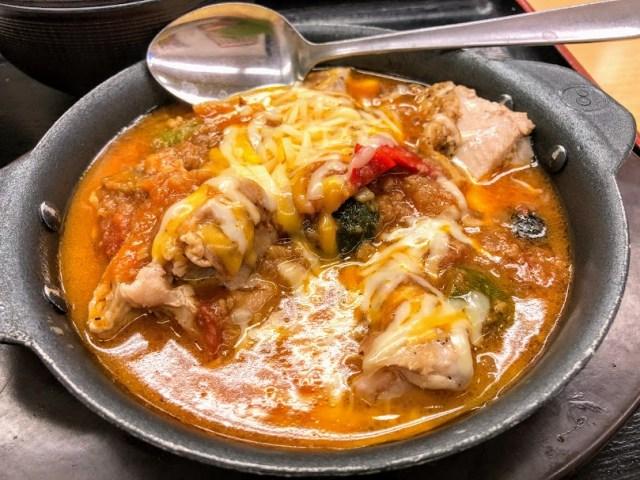 松屋「シュクメルリ」の次は「カチャトーラ定食」がテスト販売中! ニンニク×トマト×チーズが食欲をそそりまくり!!