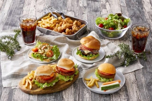 イケアが「べジ&ミートバーガーフェア」を開催! ベジミートやソイミートのパティを使ったバーガーが食べられるよ~