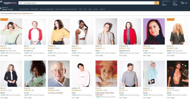 アマゾンで恋人が買える!? 海外のバレンタイン向けジョークサイトが登場。お好みの恋人と出会えるかも?