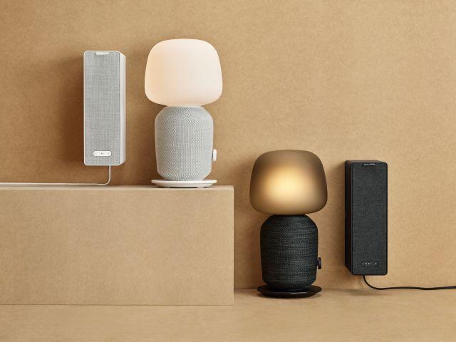 イケアから音と照明をひとつにまとめた「テーブルランプWiFiスピーカー付き」が登場。心地よい空間を作ってくれそう