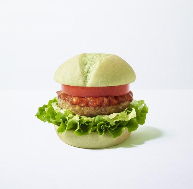 モスバーガーから肉と五葷(ごくん)を使わない「グリーンバーガー」が登場! 東京と神奈川の9店舗限定だよ