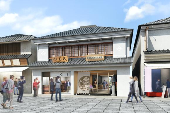 長野・善光寺にオープンする「純和風スタバ」が素敵♪ 長野産木材を使った「木のぬくもり」豊かな日本家屋なのです