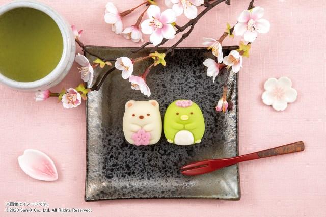 【ファミマ限定】「すみっコぐらし」の食べマスが新登場! 桜モチーフのしろくま&ぺんぎん?に癒やされる〜