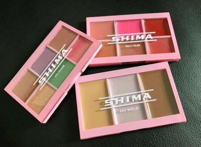 「mini」4月号の付録「SHIMA特製カードコスメパレット3枚セット」を使ってみた! 持ち運びに便利なスマートサイズです