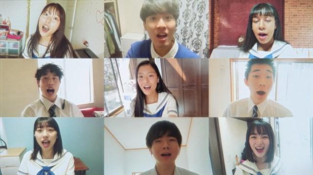 """新CM『ポカリNEO合唱』が超話題! 中高生たちが家で """"自撮り"""" した映像をひとつにして「合唱」を実現"""