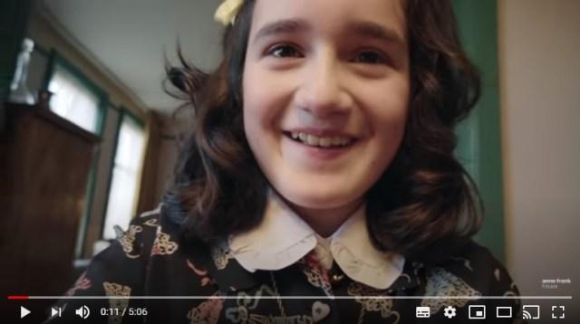 「アンネの日記」を自撮り風に撮影した『アンネのビデオ日記』がYouTubeで公開中! 全15話の動画シリーズになっています