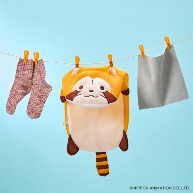 【でかくてかわいい】あらいぐまラスカルが洗濯ネットになったよ! 収納袋やぬいぐるみとしても使える3WAY仕様です♪