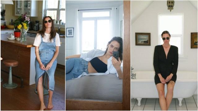世界の外出自粛に合わせて「ZARA」の着用写真に変化が…ベッドルーム、キッチンなどでラフな姿が公開されています