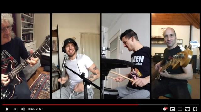クイーンのギタリストがミニコンサート&遠隔セッション! 自宅から世界へ音楽を届ける海外ミュージシャンたち