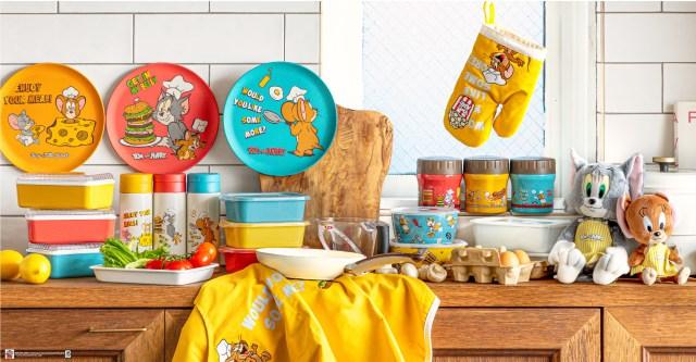「トムとジェリー」がポップ&カラフルな食器や雑貨に! 他にはないオリジナルデザインで毎日を楽しく彩ってくれそうです